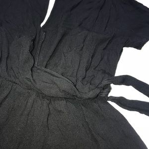 Lush Shorts - Nordstrom Lush Black Romper/Jumper